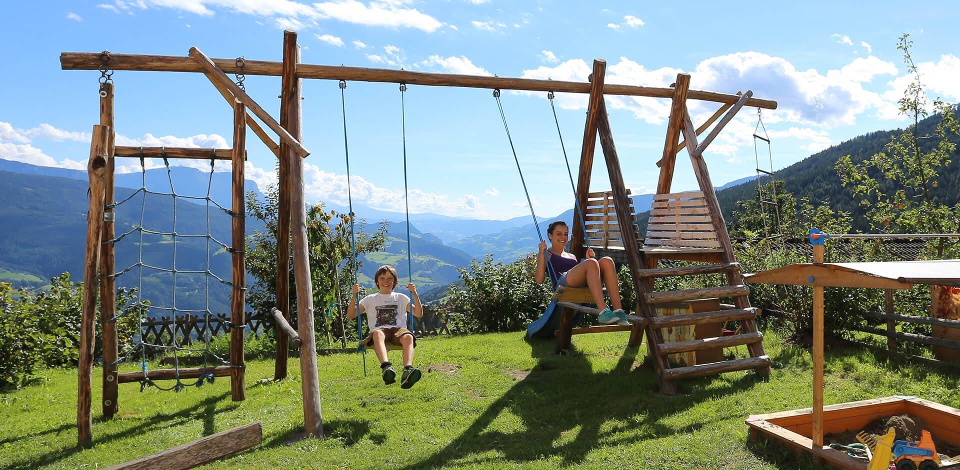 Familienurlaub auf dem Bauernhof Südtirol